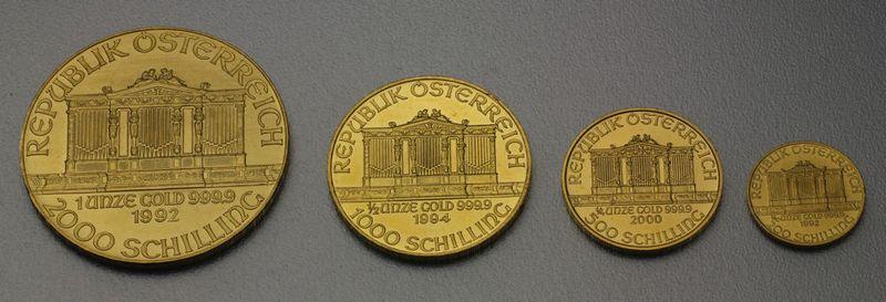 Gold Und Silbermünzen Esg Philharmonikerde